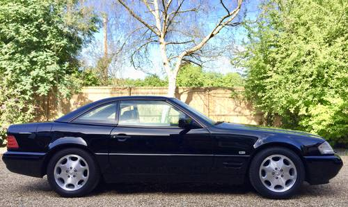 1997/R - Mercedes 320SL R129.FMBSH.Pan roof *DEPOSIT TAKEN* SOLD (picture 1 of 6)