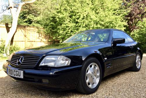 1997/R - Mercedes 320SL R129.FMBSH.Pan roof *DEPOSIT TAKEN* SOLD (picture 2 of 6)