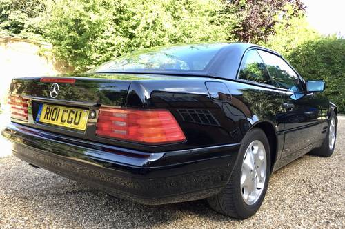 1997/R - Mercedes 320SL R129.FMBSH.Pan roof *DEPOSIT TAKEN* SOLD (picture 6 of 6)