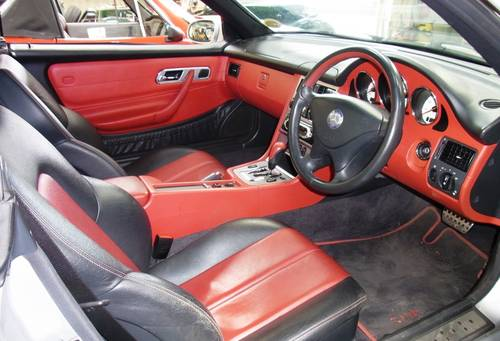 2001 Mercedes-Benz SLK 320 coupe convertible For Sale (picture 5 of 6)