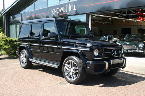 2016 Mercedes-Benz G Class 5.5 G63 AMG Edition 463 AMG Speedshift For Sale (picture 1 of 4)