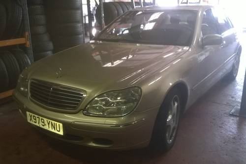 2001 Stunning low miles s500 auto saloon For Sale (picture 1 of 6)