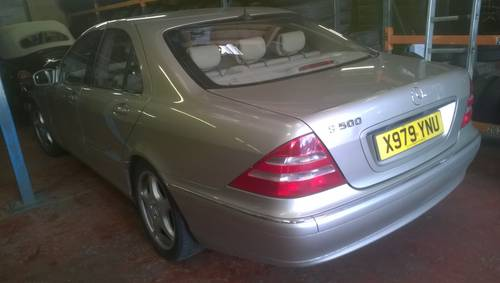 2001 Stunning low miles s500 auto saloon For Sale (picture 2 of 6)