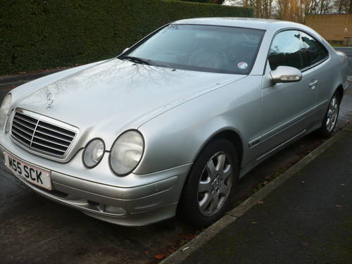 2002 Mercedes CLK 200 K Auto Petrol For Sale (picture 1 of 3)