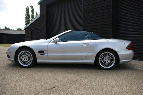 2003 Mercedes SL55 AMG 5.5 V8 Convertible Auto (59453 miles) SOLD (picture 1 of 6)