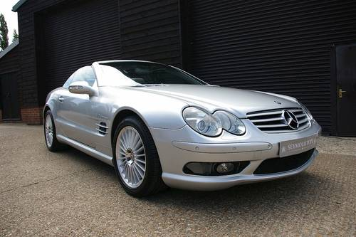 2003 Mercedes SL55 AMG 5.5 V8 Convertible Auto (59453 miles) SOLD (picture 2 of 6)