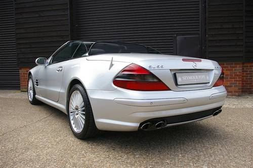2003 Mercedes SL55 AMG 5.5 V8 Convertible Auto (59453 miles) SOLD (picture 3 of 6)