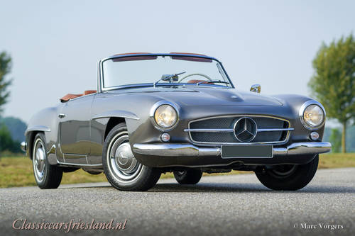 MERCEDES-BENZ 190 SL W121, 1962 - TOP RESTORED For Sale (picture 1 of 6)