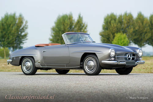 MERCEDES-BENZ 190 SL W121, 1962 - TOP RESTORED For Sale (picture 2 of 6)