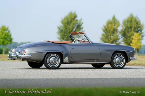 MERCEDES-BENZ 190 SL W121, 1962 - TOP RESTORED For Sale (picture 5 of 6)