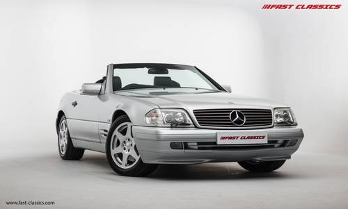 1998 MERCEDES SL 500 // EXCEPTIONAL CONDITION SOLD (picture 2 of 6)