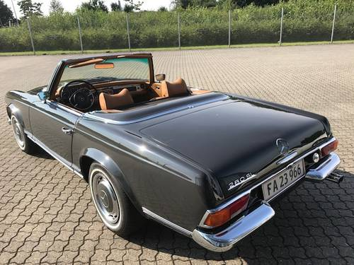 1969 Mercedes SL 280 Pagode SOLD (picture 2 of 6)