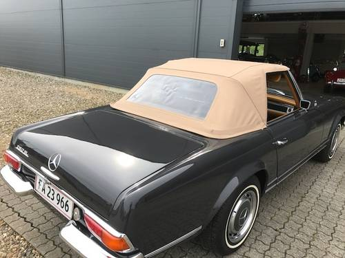 1969 Mercedes SL 280 Pagode SOLD (picture 5 of 6)
