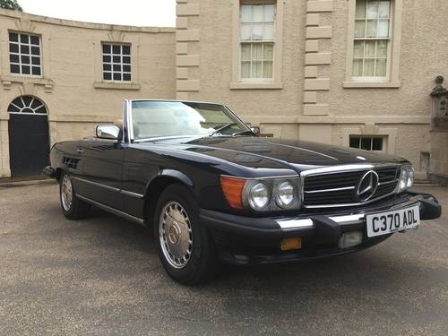 1986 Mercedes 560sl ##price drop## For Sale (picture 2 of 6)