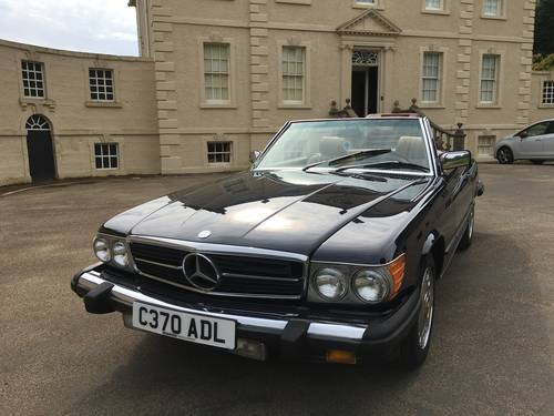 1986 Mercedes 560sl ##price drop## For Sale (picture 1 of 6)