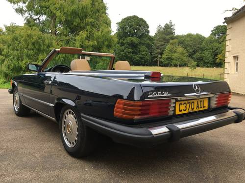 1986 Mercedes 560sl ##price drop## For Sale (picture 5 of 6)