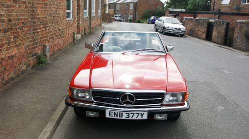 1983 Mercedes-Benz R107 280 SL, full service history  SOLD (picture 3 of 6)