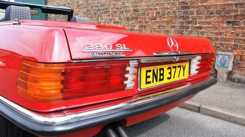 1983 Mercedes-Benz R107 280 SL, full service history  SOLD (picture 4 of 6)