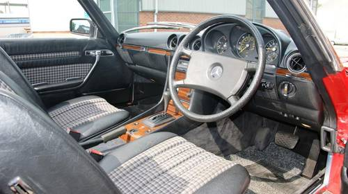 1983 Mercedes-Benz R107 280 SL, full service history  SOLD (picture 5 of 6)