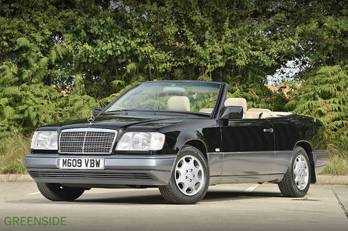 1995 UK  124 series E220 rhd Cabriolet ...Perfection! SOLD (picture 1 of 6)