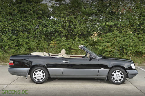 1995 UK  124 series E220 rhd Cabriolet ...Perfection! SOLD (picture 6 of 6)