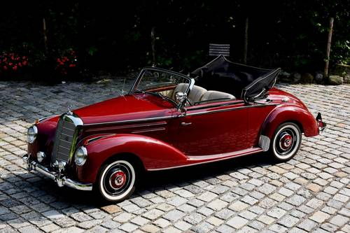 1951 Mercedes 220 Cabriolet A  For Sale (picture 1 of 6)