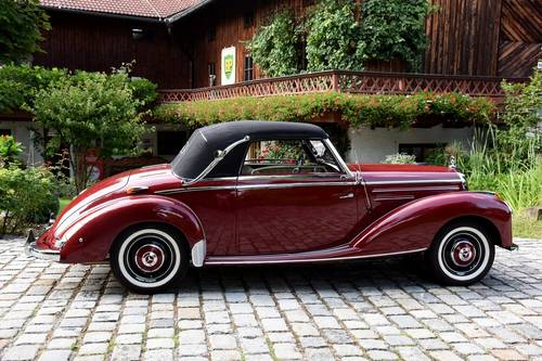 1951 Mercedes 220 Cabriolet A  For Sale (picture 2 of 6)