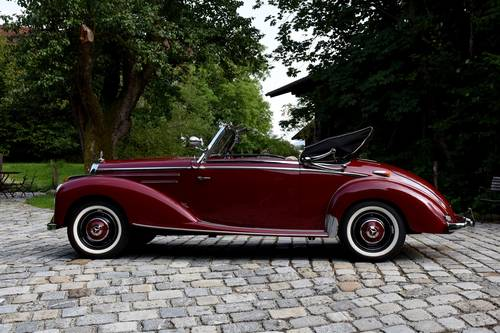 1951 Mercedes 220 Cabriolet A  For Sale (picture 3 of 6)