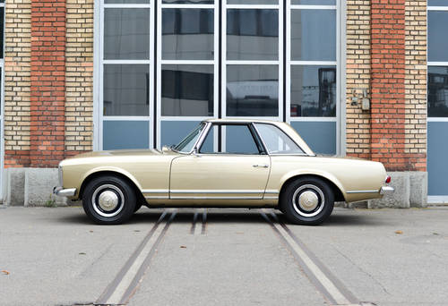 1967 Mercedes-Benz 250 SL Pagode Automatic, mint condition For Sale (picture 2 of 6)