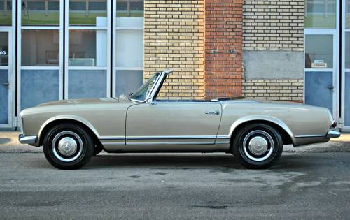 1967 Mercedes-Benz 250 SL Pagode Automatic, mint condition For Sale (picture 3 of 6)