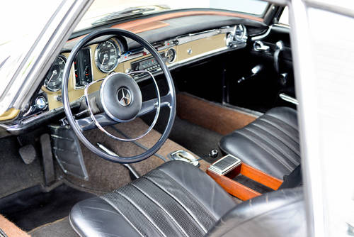 1967 Mercedes-Benz 250 SL Pagode Automatic, mint condition For Sale (picture 5 of 6)