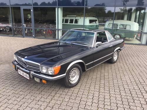 1971 Mercedes 350 SL 3,5 V8  SOLD (picture 1 of 6)