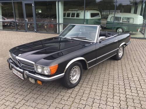 1971 Mercedes 350 SL 3,5 V8  SOLD (picture 2 of 6)