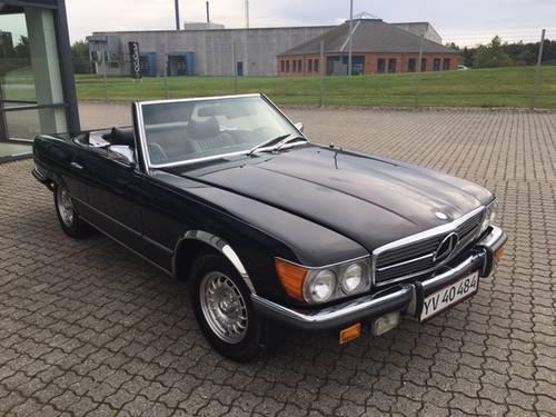 1971 Mercedes 350 SL 3,5 V8  SOLD (picture 6 of 6)