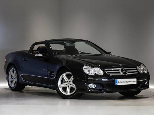 2007 MERCEDES SL350 - Full Mercedes Benz History SOLD (picture 1 of 6)
