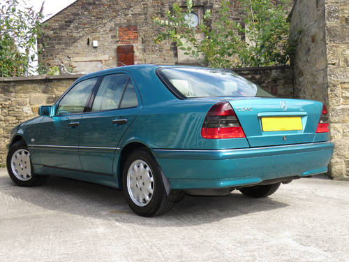 1997 Mercedes W202 C240 V6 Eleg. Auto(5) - 32K - FMBSH - Like New SOLD (picture 2 of 6)