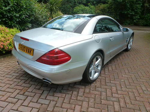 2004 Fabulous 2 Owner low mileage SL500! SOLD (picture 3 of 6)