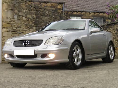 2003 Mercedes R170 SLK320 V6 Auto - 24K Miles - FMBSH - Like New SOLD (picture 1 of 6)