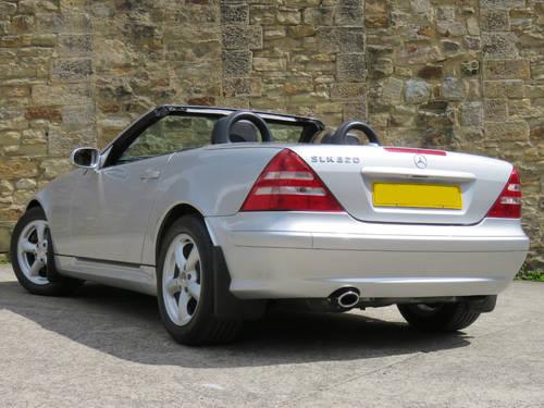 2003 Mercedes R170 SLK320 V6 Auto - 24K Miles - FMBSH - Like New SOLD (picture 2 of 6)