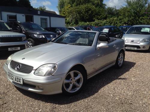 2002 Mercedes-Benz SLK 2.3 SLK230 Kompressor 2dr For Sale (picture 1 of 6)