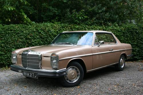 1971 MERCEDES-BENZ 250CE 250 CE - LAST OWNER 23 YEARS  SOLD (picture 1 of 6)