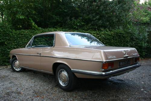 1971 MERCEDES-BENZ 250CE 250 CE - LAST OWNER 23 YEARS  SOLD (picture 2 of 6)