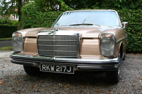 1971 MERCEDES-BENZ 250CE 250 CE - LAST OWNER 23 YEARS  SOLD (picture 4 of 6)