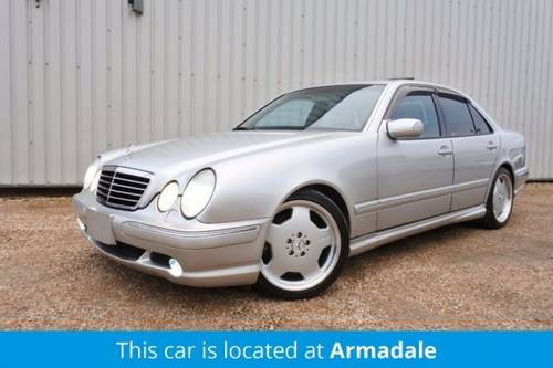 2002 MERCEDES BENZ E55 AMG SOLD (picture 1 of 6)
