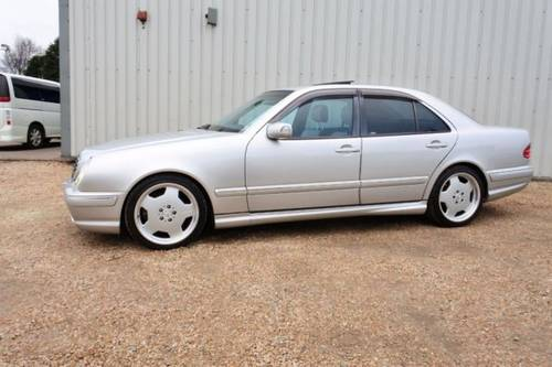 2002 MERCEDES BENZ E55 AMG SOLD (picture 2 of 6)