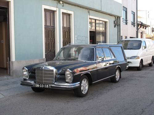 1967 Mercedes 250 S Hearse For Sale (picture 2 of 6)