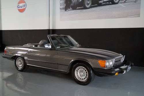 MERCEDES-BENZ 380SL 380 SL roadster (1982) For Sale (picture 1 of 6)