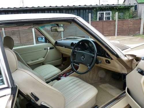 1986 Mercedes 300SL, pristine condition SOLD (picture 3 of 6)