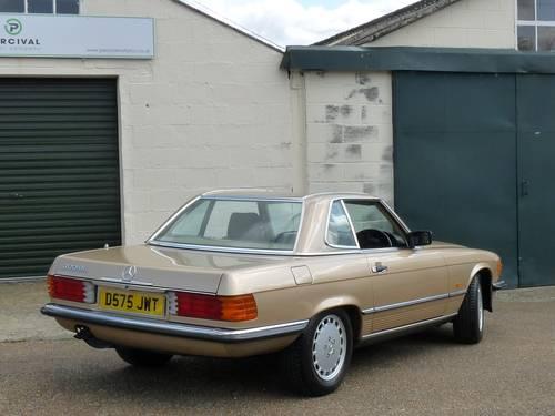 1986 Mercedes 300SL, pristine condition SOLD (picture 4 of 6)