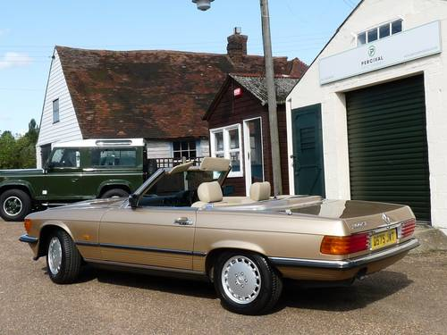 1986 Mercedes 300SL, pristine condition SOLD (picture 5 of 6)